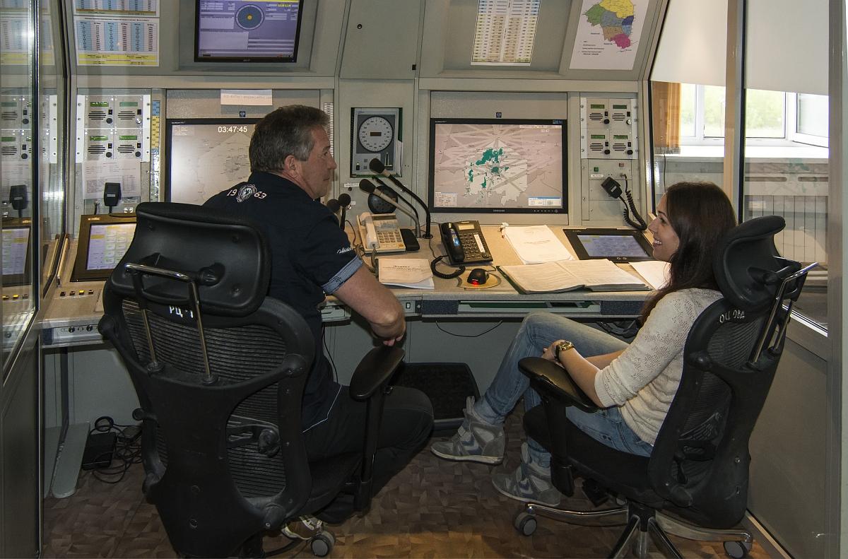 Я помню совсем другие рабочие места диспетчеров.