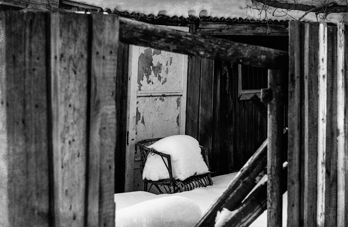 Снег отдыхает