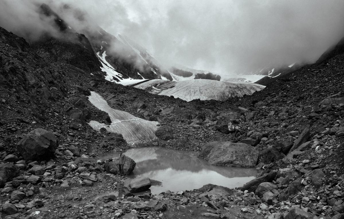 Алтай_2013_у подножия ледника Актру