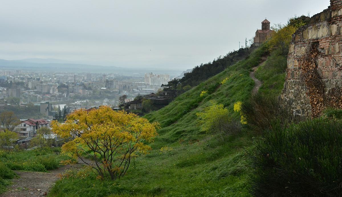 Город со стороны крепости.