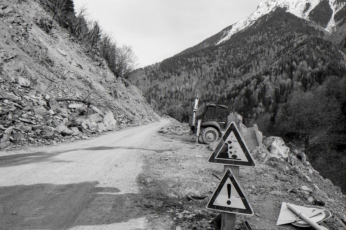Дорога в Местиа