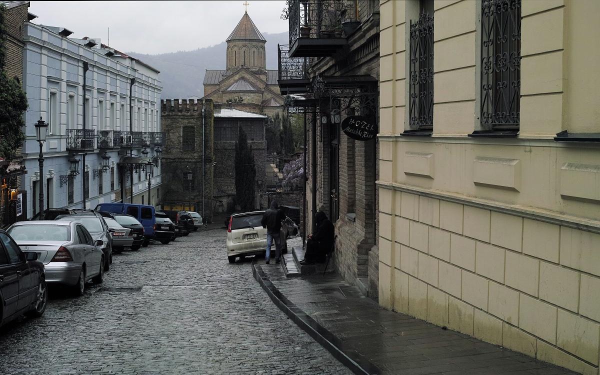 Тбилиси.  Мы тут жили