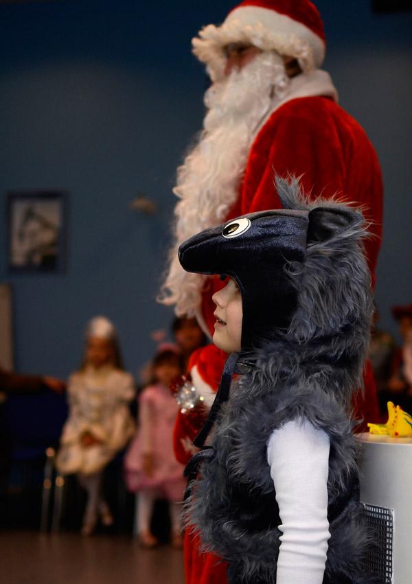 Я злой и страшный серый волк...