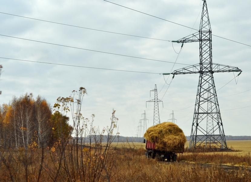 Передача энергии потребителю :-)