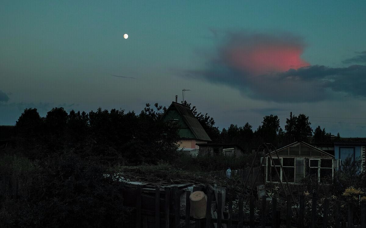 Деревенский закат от Foveon
